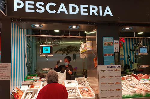 pescadería JLG Arribas Madrid - barrio de prosperidad - mercado de prosperidad